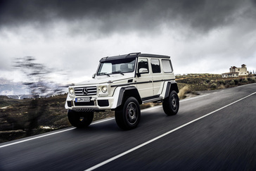 Mercedes G 550 4x4²